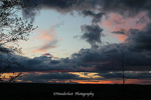 Sunset on Dogwood Ridge by Paul Herrmann