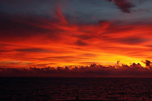 Sunset on Fire by Christa Paustenbaugh