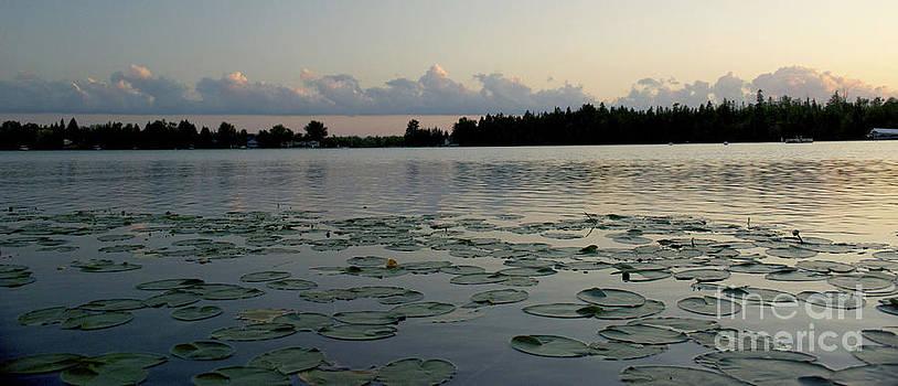 Sunset on Grand Lake by Patricia Gapske