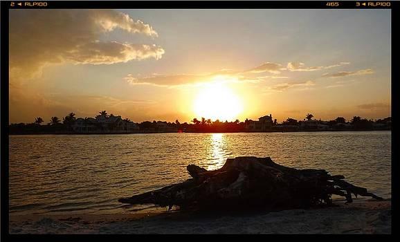 Sunset on Jupiter Island Florida by Brian Hubmann