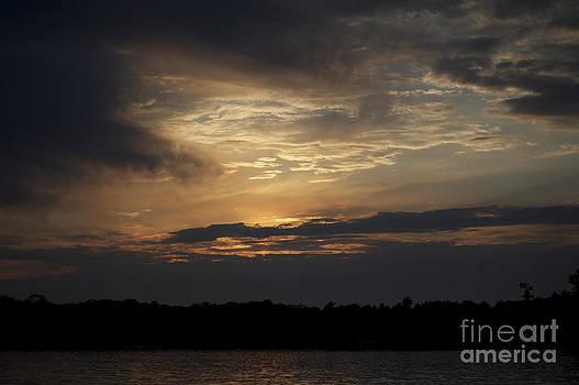Elaine Mikkelstrup - Sunset on Oastler Lake Ontario