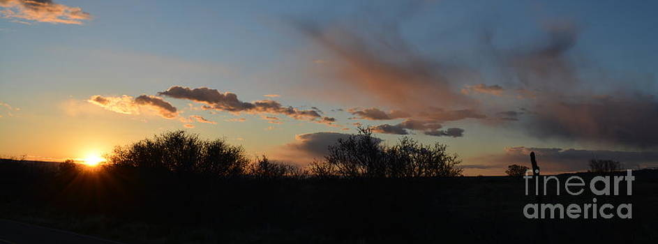 Sunset on Purdy Mesa 2 by Amber Whiting Bradley