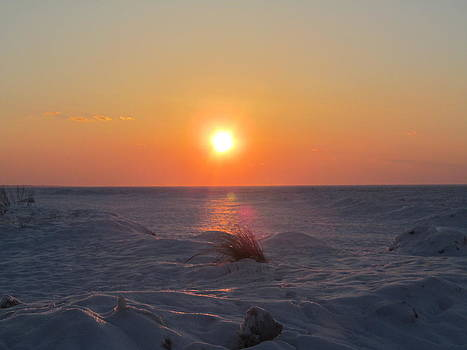 Sunset on the Bay by Loretta Pokorny