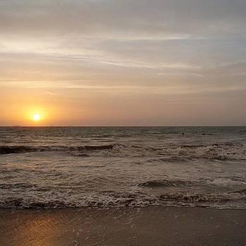 Sunset on the Beach by Dan Mason