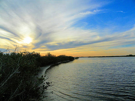 Sunset on the Indian River by Suzie Banks