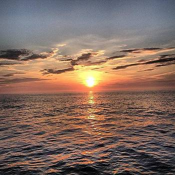 #sunset On The #ocean #water by Megan Rudman
