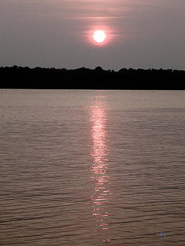 Sunset on the water by L and D Design Photography