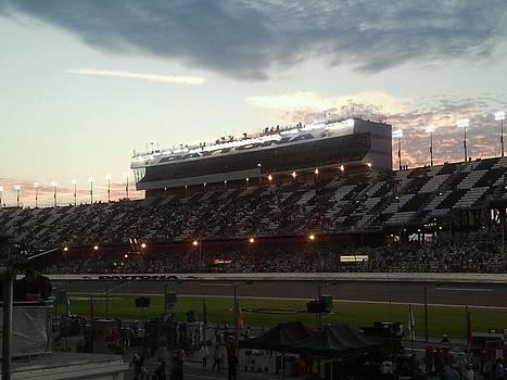 Sunset On Top of Daytona by Julie Wilcox
