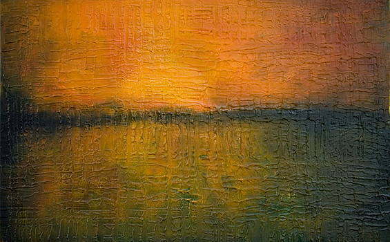 Sunset on Wood by Stephen Degan