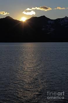 Sophie Vigneault - sunset over Alaska