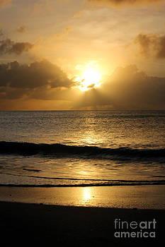 Sophie Vigneault - Sunset over Antigua