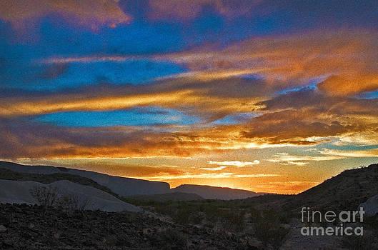 Mae Wertz - Sunset over Big Bend