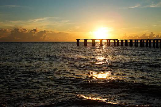 Fizzy Image - sunset over boca grande florida