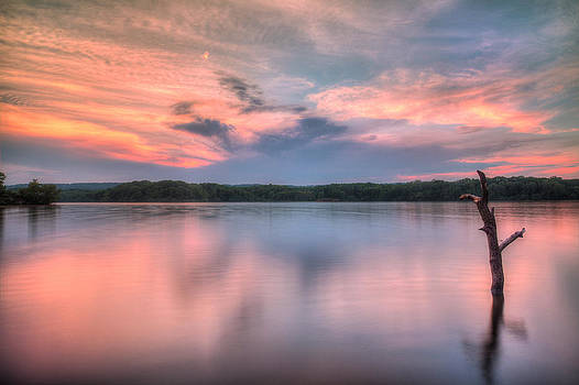 Sunset Over Cootes by Craig Brown