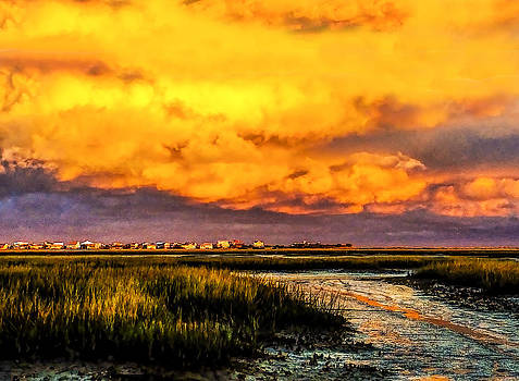 Terry Shoemaker - Sunset over Garden City Beach