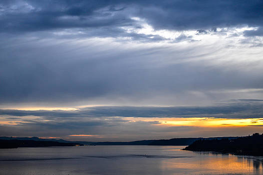 Ronda Broatch - Sunset Over Hood Canal