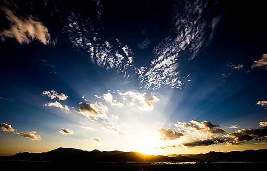 Sunset Over Kunming by Tom Liesener