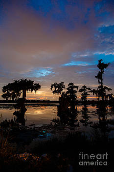Sunset over Lake Martin by Susie Hoffpauir