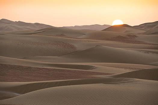 Michele Burgess - Sunset Over Liwa Dunes