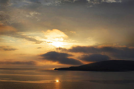 Sunset Over Loch Broom by Ed Pettitt