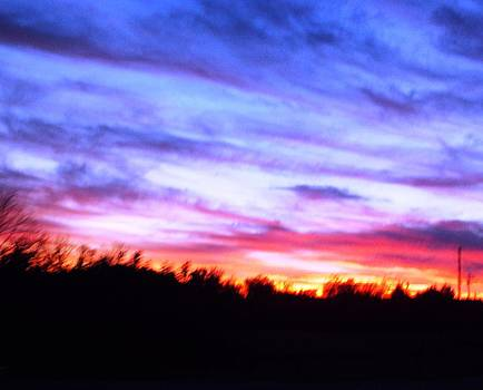 Sunset over Madisonville by Regina McLeroy