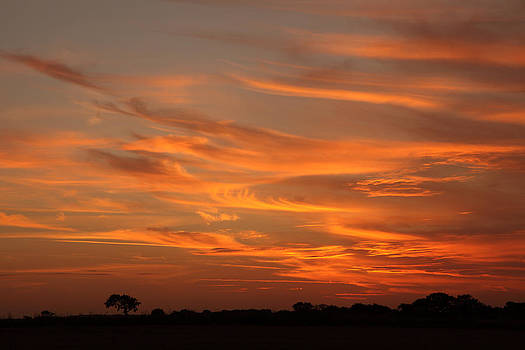 Sunset Over North Norfolk by Paul Lilley