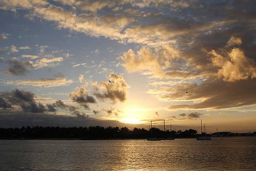 Sunset over Peanut Island by Nina Prommer