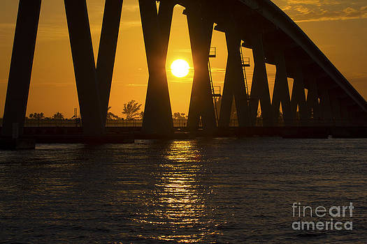 Sunset over Sanibel Island Photo by Meg Rousher