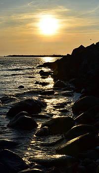 Gynt - Sunset over sea coast