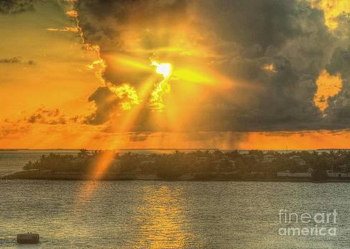 Sunset over Snob Island by Debbi Granruth