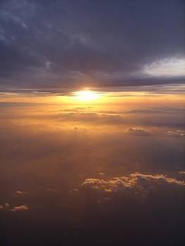 Sunset over the Irish Sea by Heather Gordon