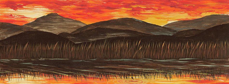 Darice Machel McGuire - Sunset Over The Pond