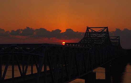 Billy  Griffis Jr - Sunset Over Vicksburg