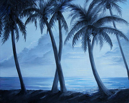 Sunset Palms by Rosie Brown