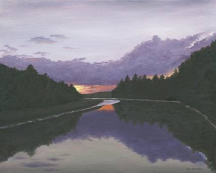Sunset by Patricia Crowley