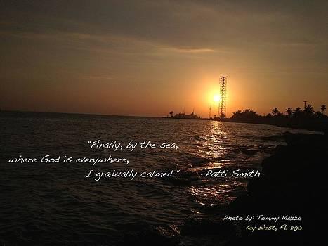 Sunset Patti Smith by Tommy Mazza