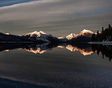 Sunset Peaks by Aaron Aldrich