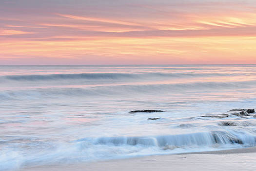 Sunset Photography Art - Pastel Blue By Jo Ann Tomaselli by Jo Ann Tomaselli