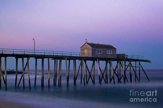Sunset Pier by Ekaterina LaBranche