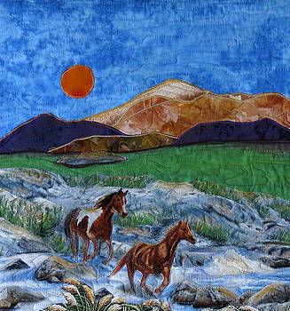 Sunset Ramble by Maureen Wartski