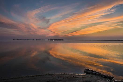 Sunset Reflection by Ahmed Moustafa
