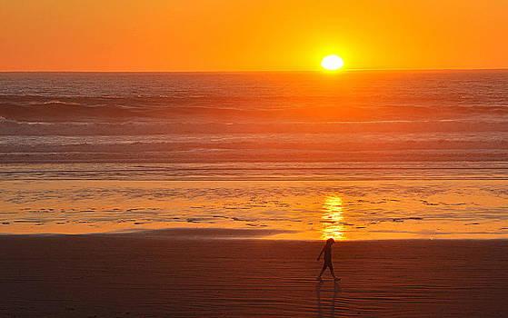Sunset Reflection by AJ  Schibig
