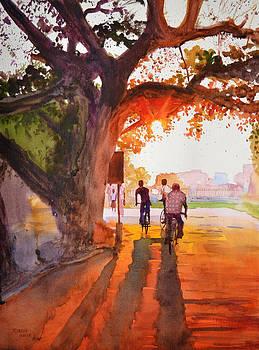 Sunset Riders by Ramesh Jhawar