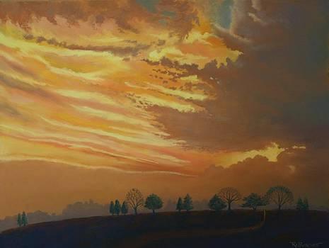 Sunset Ridge by Regina Calton Burchett