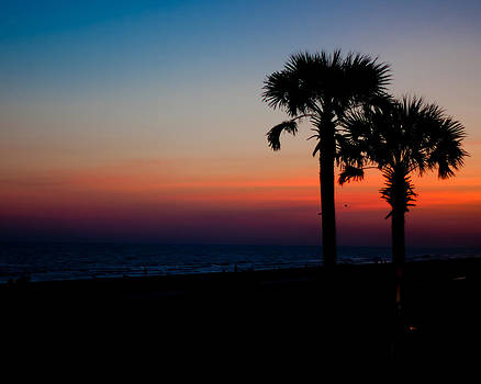Sunset by Robert L Jackson