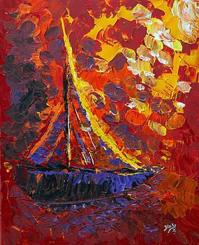 Donna Blackhall - Sunset Sail