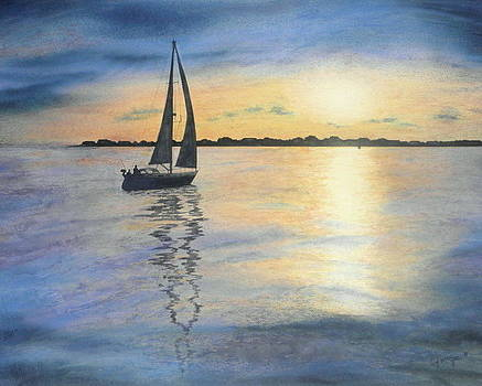 Sunset Sail by Lizbeth McGee