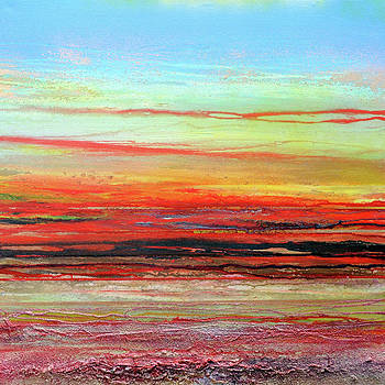 Sunset Series Druridge bay no5 by Mike   Bell