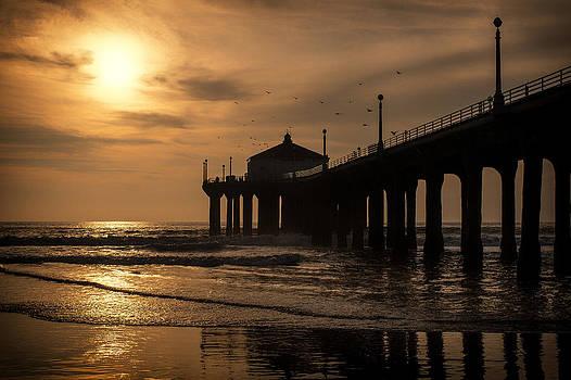 Sunset Silhouette by Arlene Carley