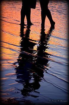 Sunset Silhouette by Terri K Designs